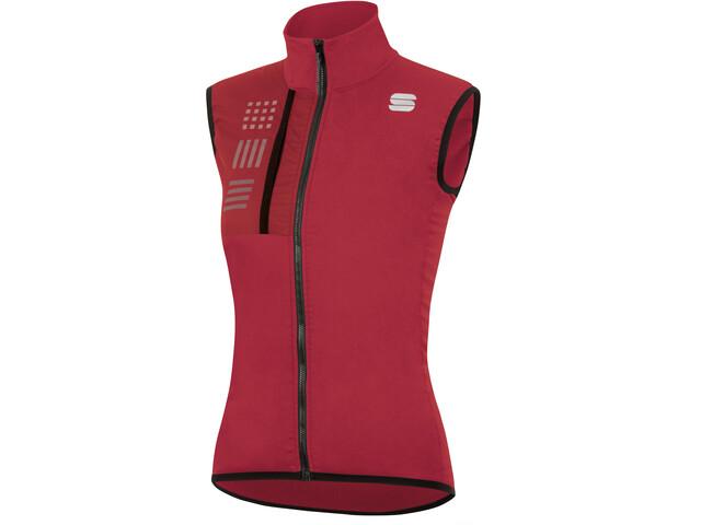 Sportful Giara Layer Vest Women red rumba